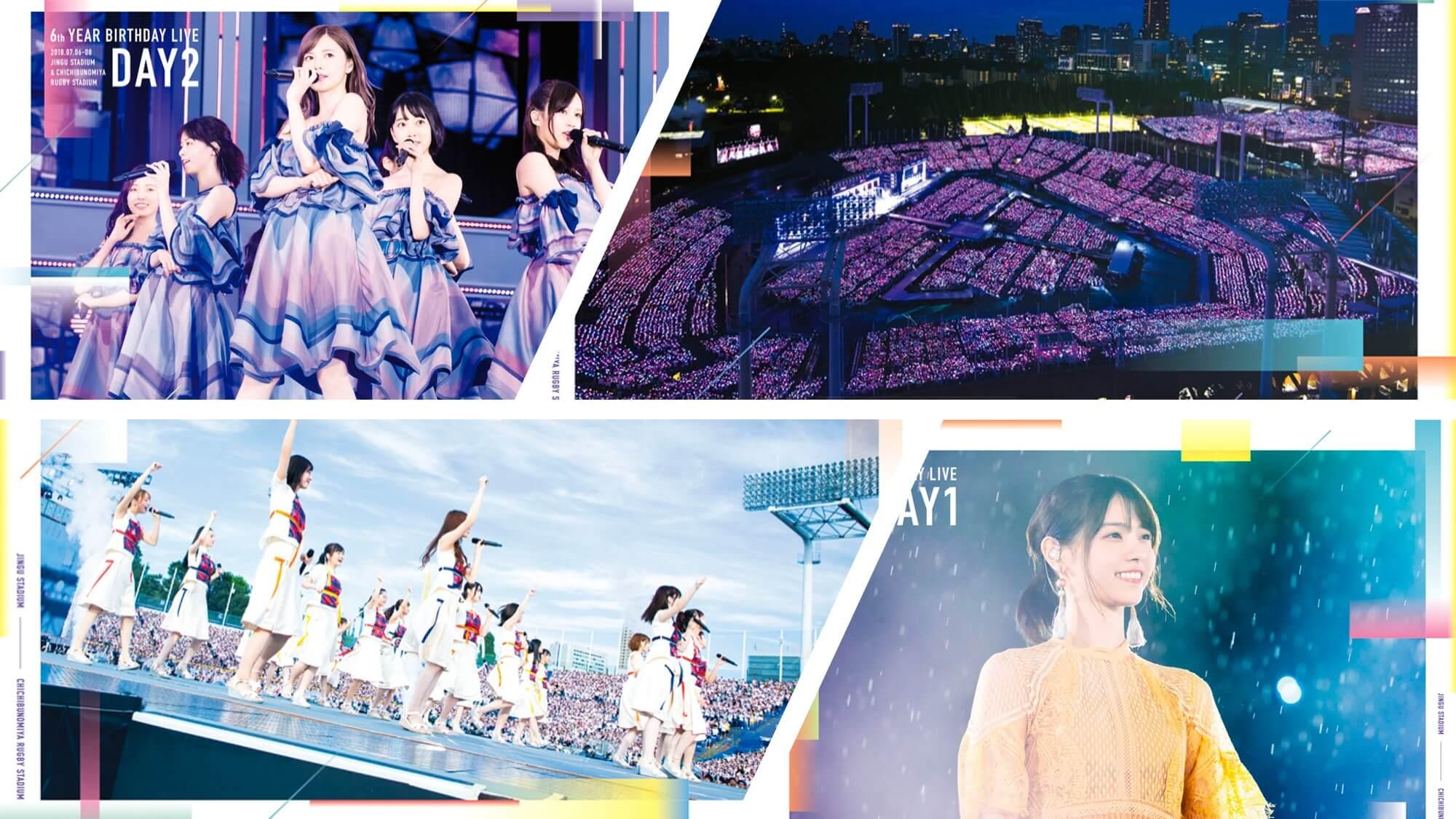 6th Birthday Live DVD・BDの店舗購入特典一覧!予約は欲しい特典のある店舗で!!